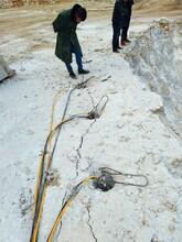 建阳涵洞开挖破裂石头不能放炮液压机械图片