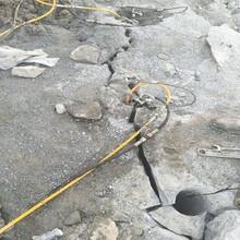 布爾津不用爆破直接開挖破除堅硬巖石有什么機械圖片