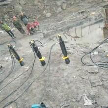 名山岩石劈裂机图片