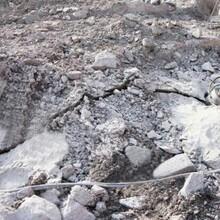 揭东土石方石场工程快速破碎硬石头的设备图片
