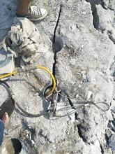 岚县大型岩石分裂棒图片