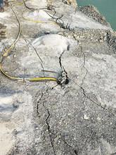 佛山岩石开挖非常困难用劈裂机图片