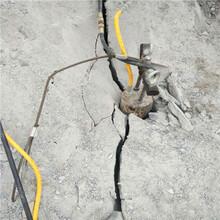 睢宁矿山花岗岩开采劈石机遇到岩石如何开采解决难题图片