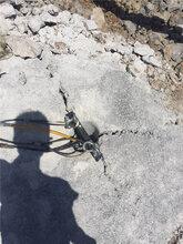 兴业开挖石头工程开挖石头静态撑石机