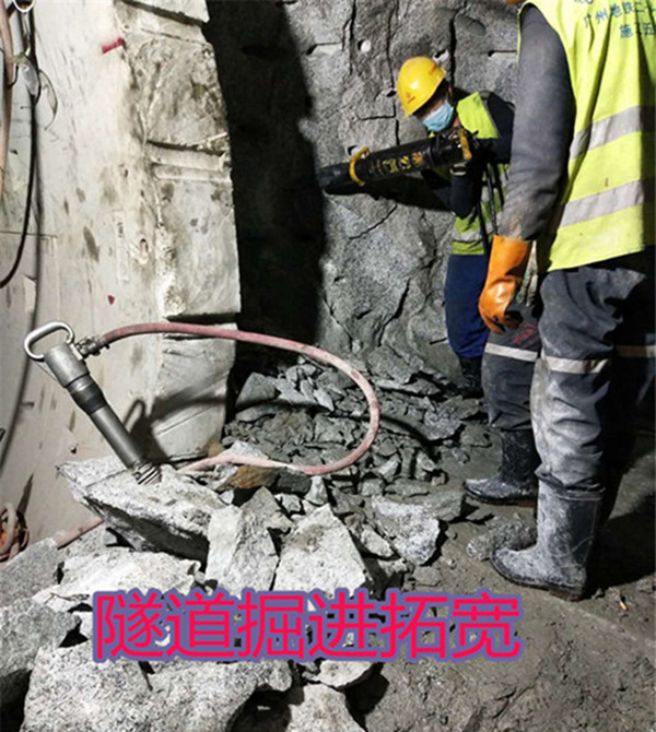 芷江挖机效率低用破石头产量高的机械设备