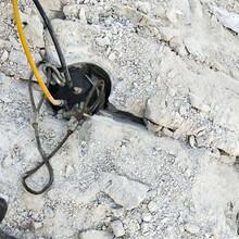 惠民代替放炮取代破碎锤开挖硬石头的机械很好用图片