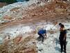 锦屏井桩开挖岩石劈裂设备