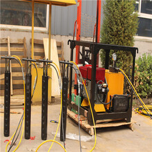 江苏六合区混凝土岩石柱塞式开山劈石液压劈裂器欢迎咨询图片