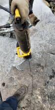 河北承德石方施工分裂免放炮开采每日产量优图片