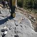 云林縣地基開挖都有那些施工方案巖石分裂廠家愚公斧