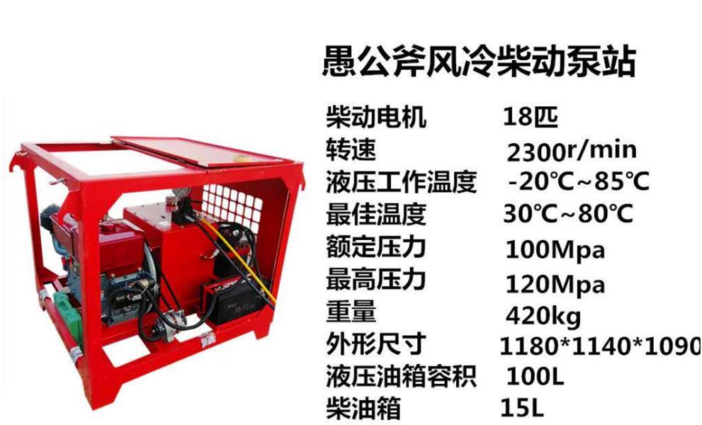 天津代替气爆石头液压扩张器市场价格
