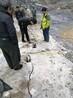 三亚石英斑岩免放炮铁矿开采分裂机