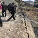 资讯:湖北省大块岩石分解岩石破碎劈裂器