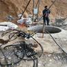 资讯:苏州市矿山片石开采静态拆除裂石机