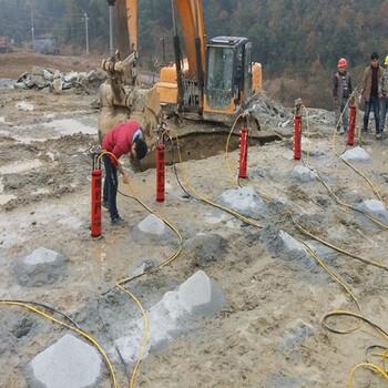 咨询:玉树州露天矿山开采破裂岩石分裂机
