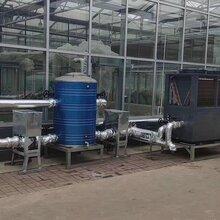 花圃供暖设备超低温空气源热泵采暖图片