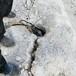 南岳区路面破拆小型劈裂机解决矿山难题