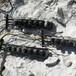 通州區修路開采堅硬石灰巖劈裂機