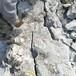 通州區修路不用放炮大型鉛鋅礦開采巖石劈裂機