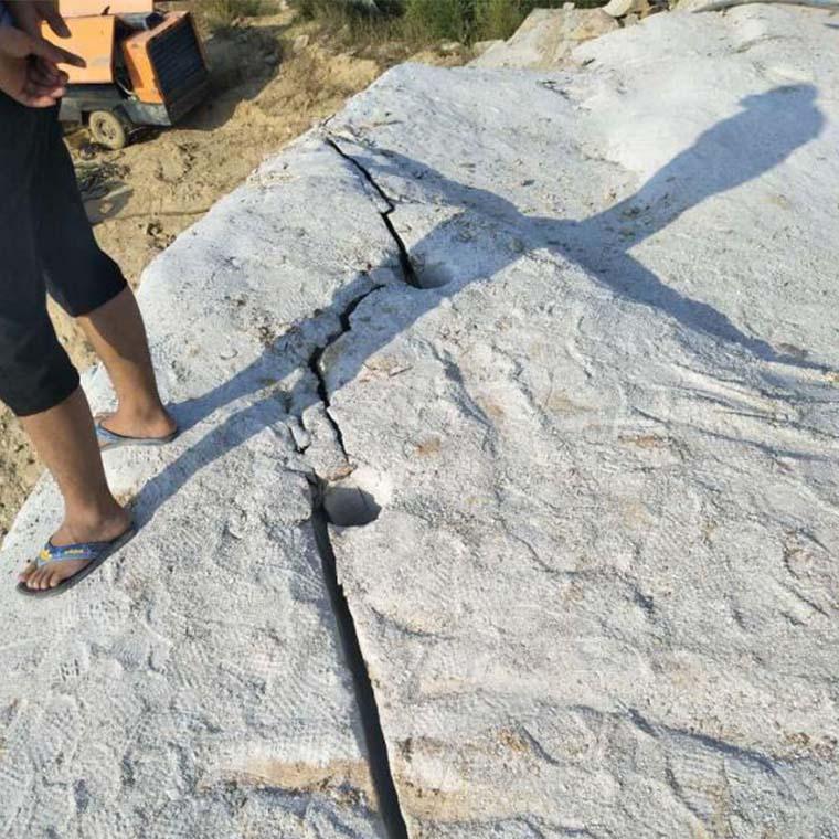 殷都区开工不能放炮用什么代替岩石开采裂石棒