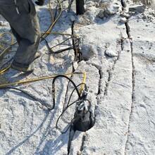 惠济水下破拆岩石设备劈裂机图片