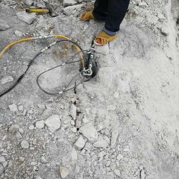桥西区挖地基硬石头破碎锤打不动怎么办