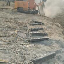 新蔡市政工程岩石沟渠开挖劈裂机图片