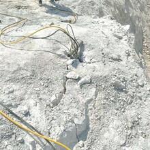 邳州矿山开采劈裂机比钩机效率高图片