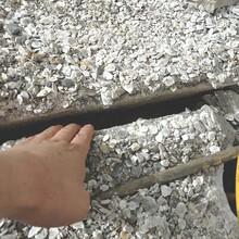饶阳基坑沟渠管槽开挖破除岩石设备劈裂机图片