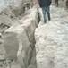通州區工程施工專用巖石的二次分解劈裂機
