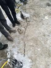 鞏義石頭劈裂棒洞采一天多少米圖片