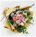 买赣州韩式花束送朋友生日爱人恋人女友鲜花礼品