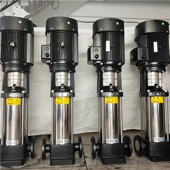 江苏省南京市轻型不锈钢立式多级离心水泵,供水设备增压立式水泵