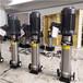 吉林省長春市輕型不銹鋼立式多級離心水泵,耐酸堿腐蝕不銹鋼水泵