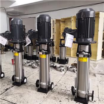 黑龙江省鸡西市不锈钢型立式多级离心水泵,锅炉高温热水补给水泵