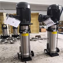六6噸蒸汽鍋爐配泵防爆電機不銹鋼立式多級補水泵