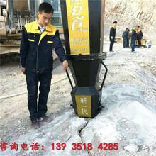 新鄉大型巖石分裂機開山機出廠價圖片