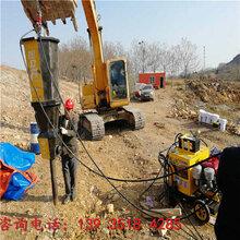龙岩液压劈裂机快速开挖设备劈裂棒哪里有卖图片