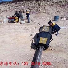 自贡大型顶石机劈裂机哪里有卖图片