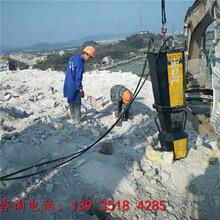 防城港挖机带动式劈石器劈石器今日供应图片