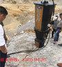 佛山岩石开采劈裂机撑裂机安装方法