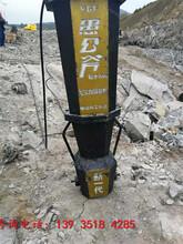 鶴崗大型破裂機破石機開采案例圖片