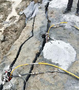 挖機打不動用靜態劈裂棒結構特點