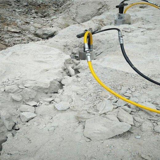 液壓劈裂機快速開挖設備分裂泵工作原理