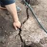 挖機打不動用靜態劈裂