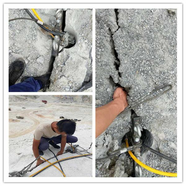 挖機帶動式劈石器破石棒價位