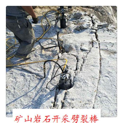 井下巖石劈裂機頂石機生產廠家