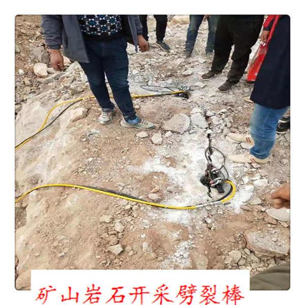 礦山開挖巖石靜爆機日產量