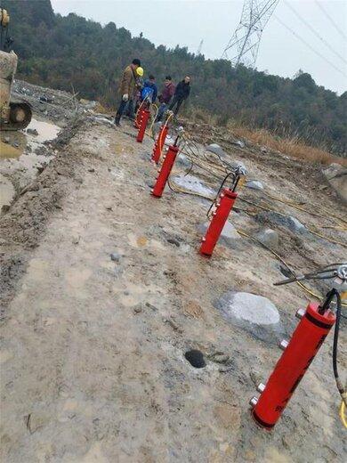 郴州礦山巖石分裂機產量高