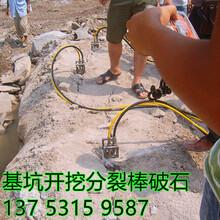 贺州高速修建岩石分裂机每吨成本多少环保设备图片